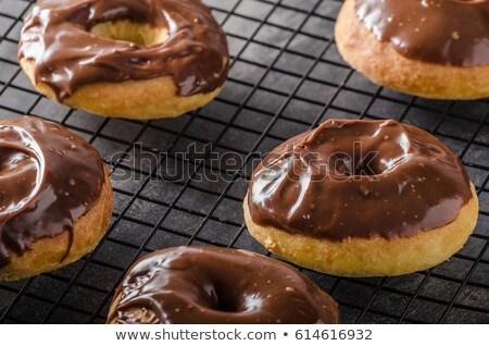 Homemade donuts delish Stock photo © Peteer