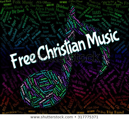 Free Music Means With Our Compliments And Freebie Stock photo © stuartmiles