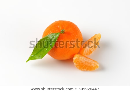 washed tangerine with separated segments Stock photo © Digifoodstock