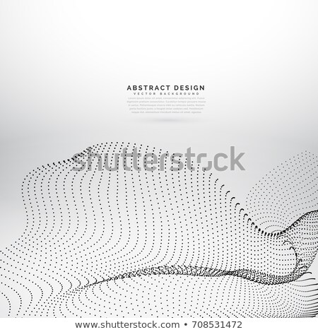black prticle dots mesh vector background stock photo © sarts