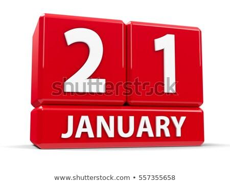 21st january stock photo © oakozhan
