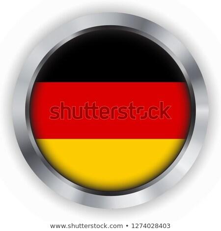 German flag on a steel badge Stock photo © andreasberheide