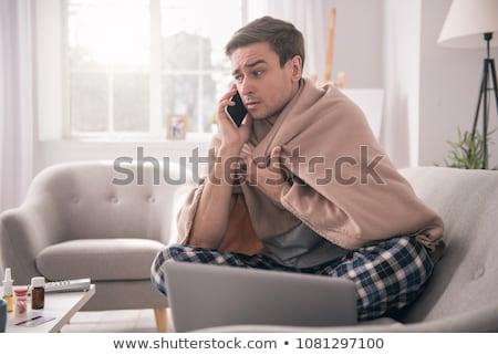 I am sick. Stock photo © Fisher