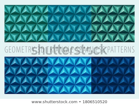 Seamless polygonal pattern  Stock photo © ratkom