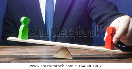 Láthatatlan alkalmazott anonim munkás üzlet foglalkoztatás Stock fotó © Lightsource