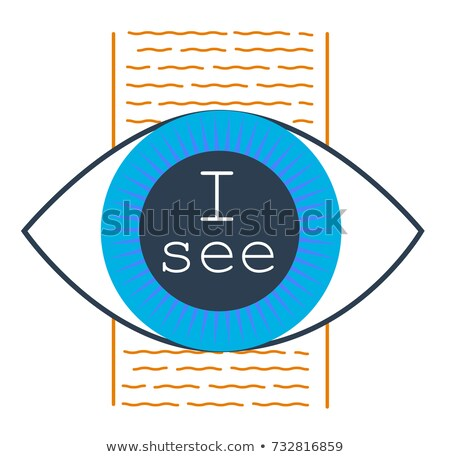 concept of seeing the truth Stock photo © Olena