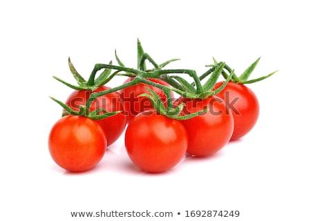 taze · kiraz · domates · ahşap · masa · bahçe · arka · plan - stok fotoğraf © digifoodstock