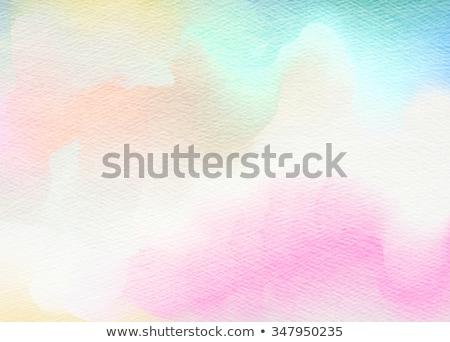 renkli · suluboya · kâğıt · benim · muhteşem · kaba - stok fotoğraf © ilolab