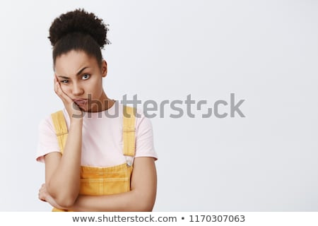 annoyed woman stock photo © hsfelix