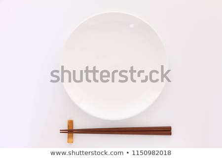 スタック · 料理 · 白 · 銀 - ストックフォト © is2