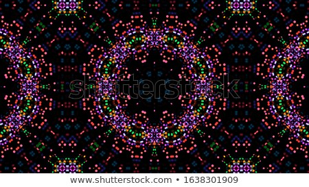 Kaleidoscope geometric colorful pattern. Abstract background. Vector illustration. Stock photo © FoxysGraphic