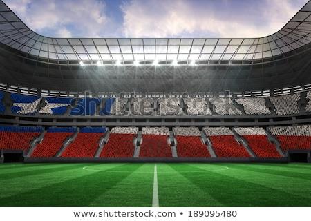 Fútbol digitalmente generado Chile bandera hierba Foto stock © wavebreak_media