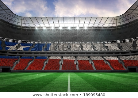 Soccer  against digitally generated chile national flag Stock photo © wavebreak_media