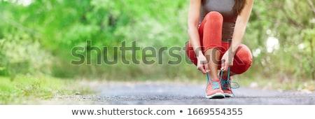 lopen · joggers · groep · mensen · silhouetten · fitness · groep - stockfoto © krisdog