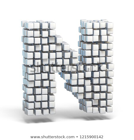 tegels · abstract · Blauw · business · gebouw - stockfoto © djmilic