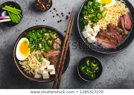 almeja · sopa · blanco · tazón · espacio · de · la · copia · superior - foto stock © alex9500
