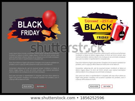 Mega Discount, Big Sale Web Pages with Text Sample Stock photo © robuart