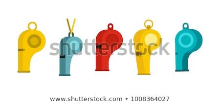 vector set of whistle Foto stock © olllikeballoon