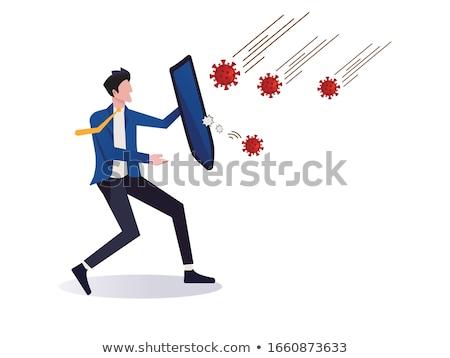 Virus attacks people Stock photo © jossdiim