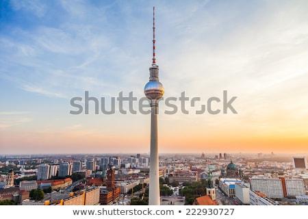 テレビ 塔 ベルリン ドイツ テレビ塔 人気のある ストックフォト © nito