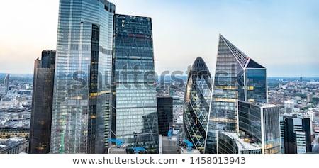 Londres · linha · do · horizonte · panorama · ilustração · inglaterra · Tower · Bridge - foto stock © cidepix