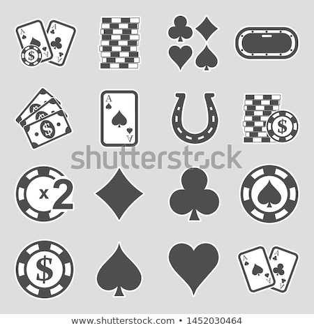 Hand Sign Money Betting And Gambling Icon Vector Illustration Stock photo © pikepicture