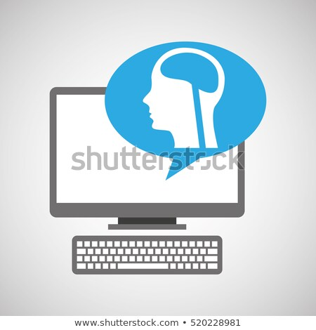 Scan Heartbeat, Cardiology Tech, Clinic Vector Stock photo © robuart