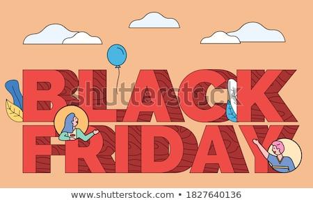 ベスト ブラックフライデー 販売 キャプション 店 ストックフォト © robuart