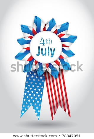 4th of july in 3d cubes stock photo © marinini