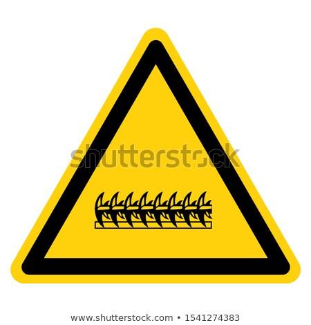 wired sign stock photo © darkves