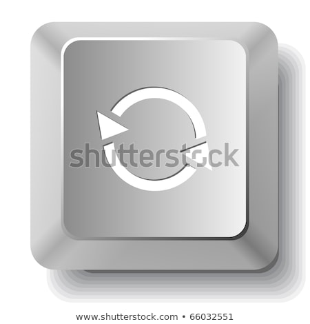 recycle button in key board Stock photo © get4net