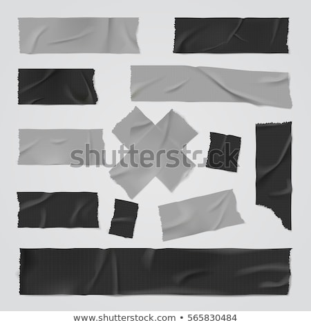 black adhesive tape Stock photo © gewoldi