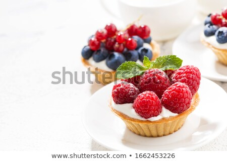 mini fruit tarts stock photo © aladin66