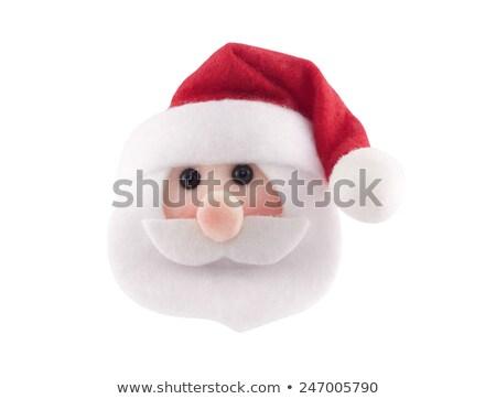 Santa Figurine Head Stock photo © ca2hill
