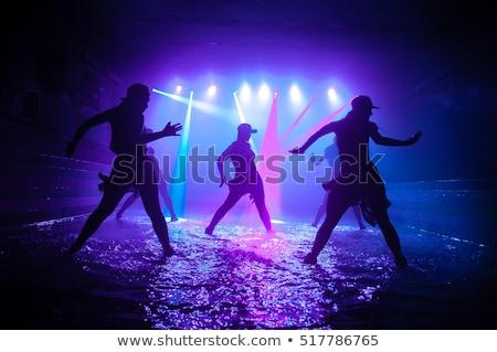 dans · passie · jonge · geschikt · vrouw - stockfoto © yurok