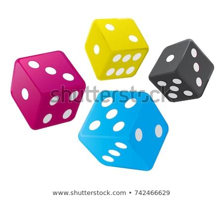 красочный четыре числа Сток-фото © posterize