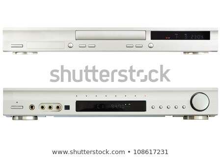 DVD player with tuner Stock photo © Givaga