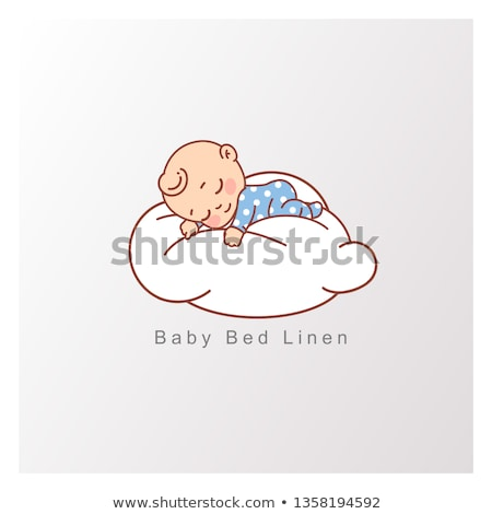 Baby Sleeping on Cloud Stock photo © indiwarm