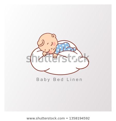 商业照片 / 矢量图: 婴儿 · 睡眠 · 云 · 艺术 · 设计 / lovely