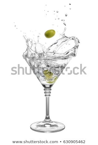Martini Spilling Stock photo © alexeys