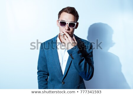 Smoked cigarettes isolated on white background Stock photo © Givaga