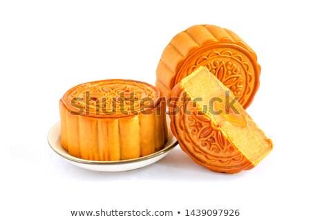 Three mooncakes Stock photo © szefei
