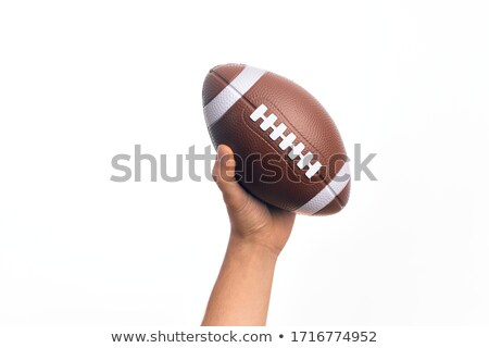 Futbol görüntü kadın el Stok fotoğraf © pongam