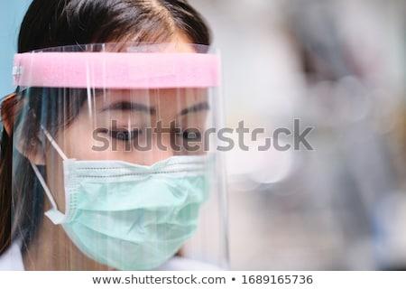gezicht · meisje · schoonmaken · procedure · gezondheid - stockfoto © pressmaster
