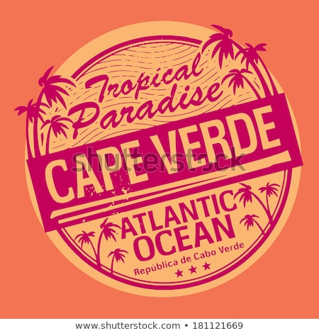 vector label Made in Cape Verde Stock photo © perysty