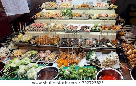 malaysian snacks in penang malaysia Stock photo © travelphotography