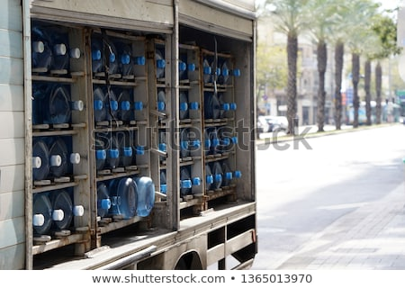 water delivery   full body stock photo © lisafx