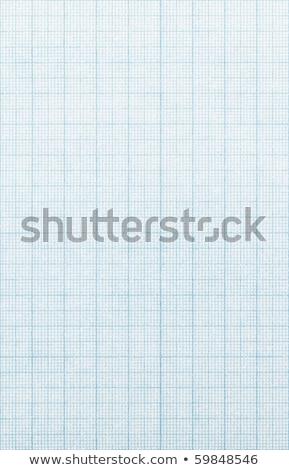 Fondo de papel de escala de cuadrícula antigua envejecida Foto stock © pashabo