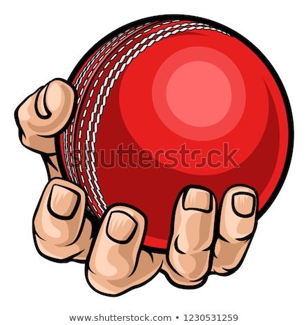 Cartoon mano palla disegno arte Foto d'archivio © indiwarm