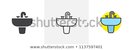 Icon sink Stock photo © zzve
